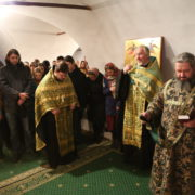 Гости из храма Знамения в Кунцево
