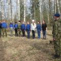 Следопытский слет, посвященный первому скаутскому костру в России