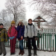 Зимний поход волоколамского отделения БПС