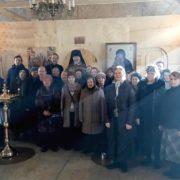 Литургия Преждеосвященных Даров на подворье в Мневниках