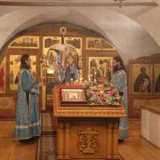 Богослужение в честь Волоколамской иконы Божией Матери