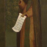 Старинная икона преподобного Иосифа Волоцкого