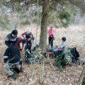 Тренировочный поход Волоколамского отряда БПС