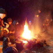 Ночевка в зимнем лесу Волоколамского отделения БПС