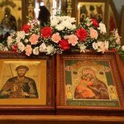 Служба Волоколамской иконе Божией Матери.