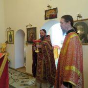 Престольный праздник в домовом храме Скита