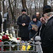 Панихида на могиле митрополита Питирима