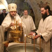 Праздничное богослужение в Крещенский Сочельник
