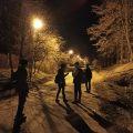 Ночной поход Волоколамского отделения БПС