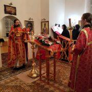 Пасхальное богослужение в Скиту