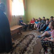 Поздравление воспитанников социально-реабилитационных центров