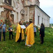 Престольный праздник на подворье в селе Теряево